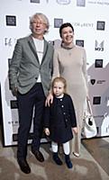Аркадий Укупник с супругой Натальей и дочерью. Отк