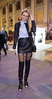 Ксения Сухинова. Открытие Moscow Fashion Week в Го