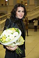 Анастасия Заворотнюк. Открытие Moscow Fashion Week
