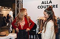 Виктория Боня. Показ Alla Couture. Москва, Россия.