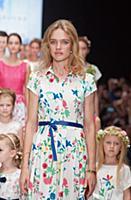 Zarina и Наталья Водянова в проекте 'Мода со смыслом'