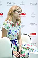 Наталья Водянова. Zarina. Mercedes-Benz Fashion We