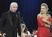 Дмитрий Хворостовский и Элина Гаранча на концерте из серии «Хворостовский и друзья»