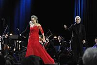 Дмитрий Хворостовский и Элина Гаранча на концерте