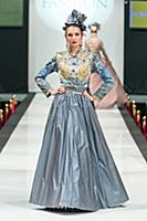 Показ Вячеслава Зайцева. Estet Fashion Week. Росси