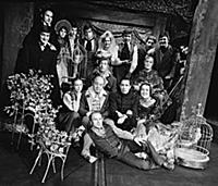 Актеры театра Малой Бронной.