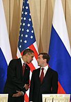 Визит Барака Обамы в Москву