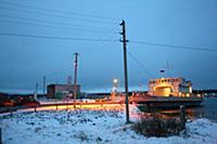 Посёлок Вознесенье в Ленинградской области