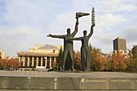 Площадь Ленина. Новосибирск 2015.
