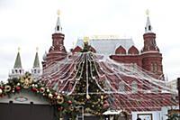 Новый год и Рождество в Москве 2016