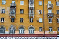 Проспект Свободы. Россия, Ярославль. 3-4 января 20