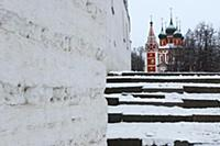 Вид на церковь Архангела Михаила. Россия, Ярославл