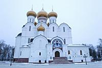 Вид на Успенский кафедральный собор. Россия, Яросл