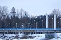 Вид на Парк 'Стрелка'. Россия, Ярославль. 3-4 янва