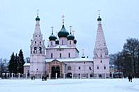 Ильинская церковь. Россия, Ярославль. 3-4 января 2