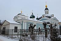 Сретенская церковь. Россия, Ярославль. 3-4 января