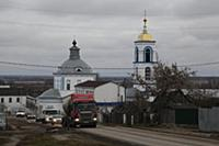 Окраина Сасово. Сасово, Рязанская область, Россия.