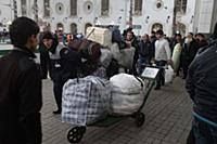 Возвращение в Душанбе. Казанский вокзал, Москва, Р