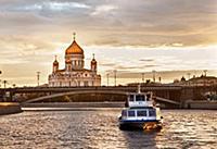 Виды Москвы и Санкт-Петербурга