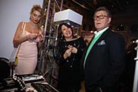 Лев Лещенко с супругой. Показ коллекции Валентина