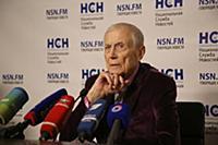 Пресс-конференция поэта Евгения Евтушенко