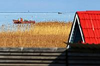 Рыбаки на Ладожском озере