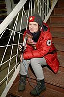 Екатерина Санникова. Съемки видеоклипа Натальи Гор