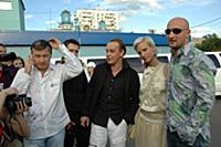 Олег Фомин, Михаил Горевой, Гоша Куценко. 2006 год