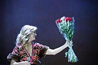Вика Цыганова. Сольный концерт Вики Цыгановой. Сце