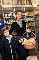Юлия Такшина с сыном Федором. Юлия Такшина посетил