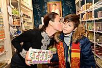 Юлия Такшина с сыном Иваном. Юлия Такшина посетила