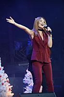 Наталья Подольская. Съемки новогоднего концерта «Т