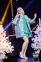 Натали. Съемки новогоднего концерта «Танцы! Елка!