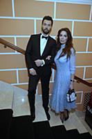 Денис Клявер с супругой. Церемония вручения премии