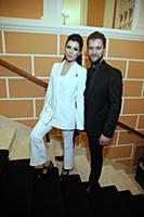 Екатерина Волкова с супругом. Церемония вручения п