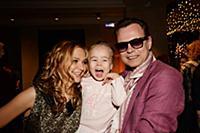 Владимир Левкин с супругой и дочерью. Квест-концер