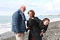 Ираклий и Тамара Квирикадзе с сыном Ираклием. 1-ый