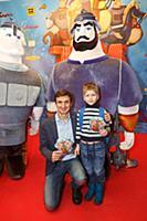 Алексей Гаврилов с племянником. Премьера мультфиль