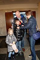 Алексей Кортнев с семьей. Премьера новогоднего кон