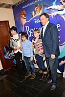 Михаил Борщевский с семьей. Премьера новогоднего к