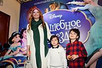 Анастасия Стоцкая с сыном. Премьера новогоднего ко