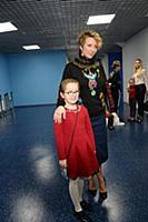 Яна Чурикова с дочерью. Премьера новогодней сказки
