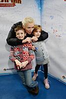 Диана Арбенина с дочерью Мартой и сыном Артемом. П