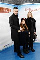 Александр Сирадекиан с семьей. Премьера новогодней