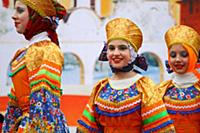 Великий Новгород. Празднование Широкой Масленицы