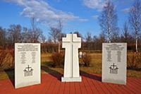 Немецкое военное кладбище солдат вермахта