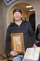 Российский актер Дмитрий Марьянов