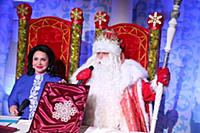 Дед Мороз в театре «Русская песня»
