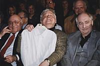 Арчил Гомиашвили, Олег Табаков. Марк Захаров.