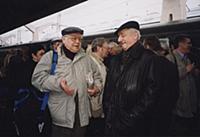 Олег Табаков, Марк Захаров.